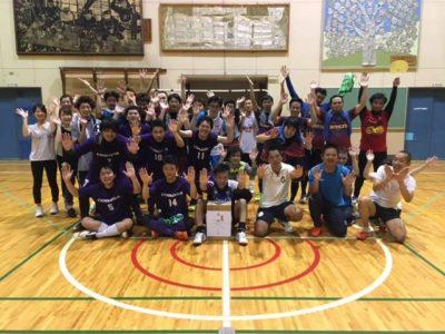 三条マイナーフットサル大会 『VIVACUP2017 in ものづくり学校 企業対抗戦』開催